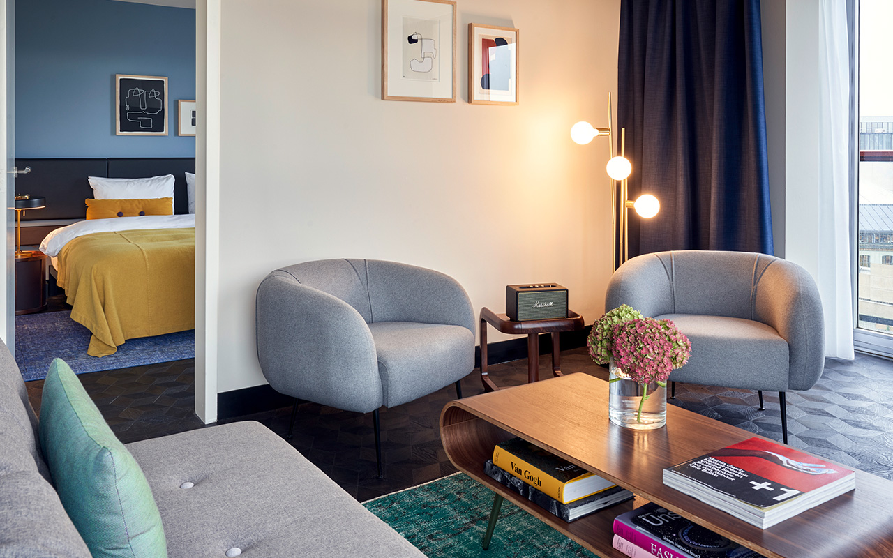 park centraal amsterdam family suite