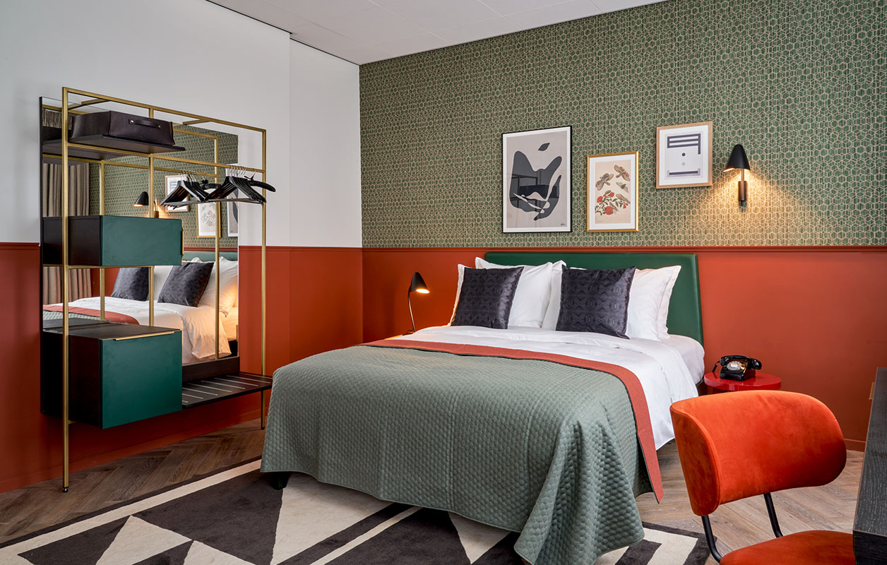 park centraal deluxe room